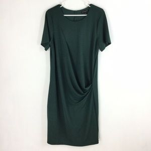 Banana Republic Dress Side Ruched Draped Front